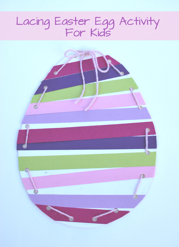 Lacing Easter Egg