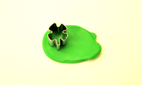 fimo with cutter