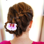 Easy Swirled French Braid