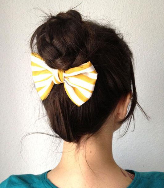Enjoyable 10 Beautiful Hair Bun Tutorials Artzycreations Com Short Hairstyles Gunalazisus
