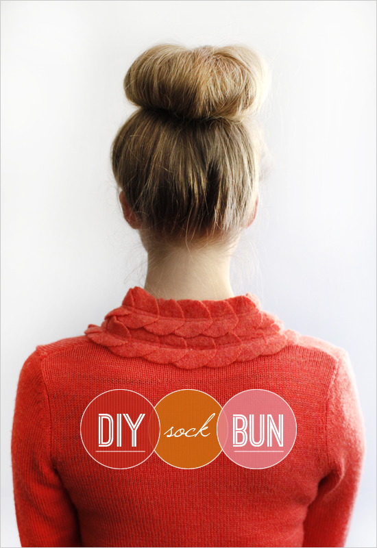 diy_sock_bun