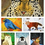 Animal Pointillism