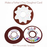 Father's Day Doughnut Card
