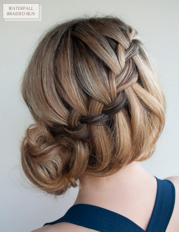 Hair-Romance-30-braids-30-days-21-the-waterfall-messy-braid-bun