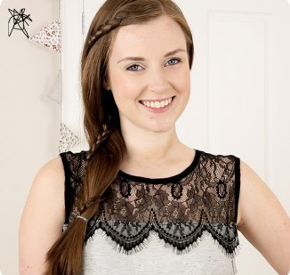 How-to-create-a-simple-lace-braid-326x1024