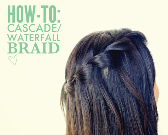 The cascade waterfall braid