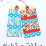 Washi Tape Gift Tags