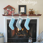 Christmas Duck Tape Stockings