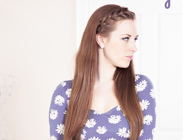 Astonishing How To Inside Out French Braid Bangs Braids Hairstyle Inspiration Daily Dogsangcom