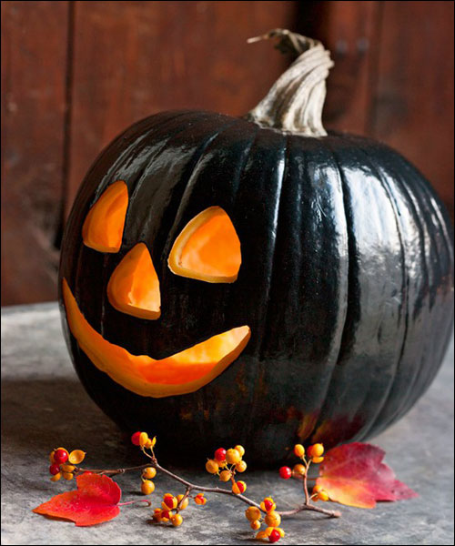 25 creative pumpkin decorating ideas for Different pumpkin designs