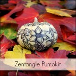 Zentangle Pumpkin