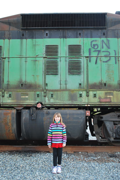 emma and train