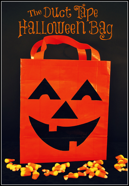 The Duct Tape Halloween Bag