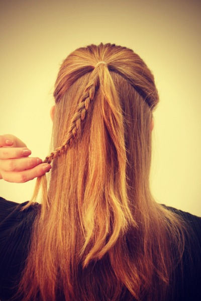 hairstyles to do with loom bands romantic rosette braid