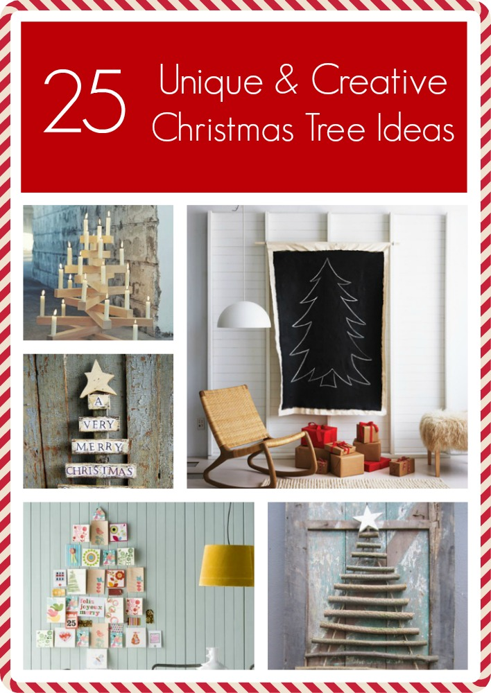 25 Unique French Nail Art Ideas On Pinterest: 25 Creative And Unique Christmas Trees