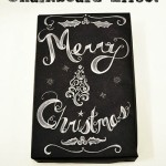 DIY Chalkboard Effect Gift Wrapping