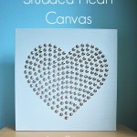 Studded Heart Canvas