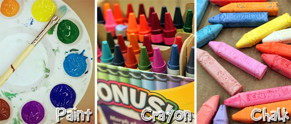 Name Art_Crayola Materials