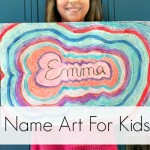 Name Art For Kids