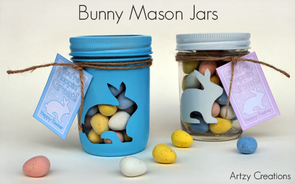 Bunny mason gift jars with printables artzycreations bunny mason jarsfeature negle Image collections