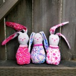Bitty Bunnies w/ Free Pattern