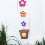 Flower Pot Card w/ Printable Template