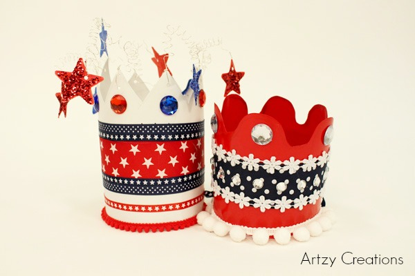 Artzy Creations_4th of July Crowns B