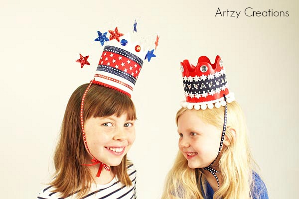 Artzy Creations_4th of July Crowns