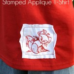 Stamped Applique T-Shirt