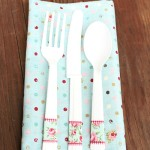 Washi Tape Silverware