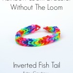 The Inverted Fishtail Bracelet- No Loom
