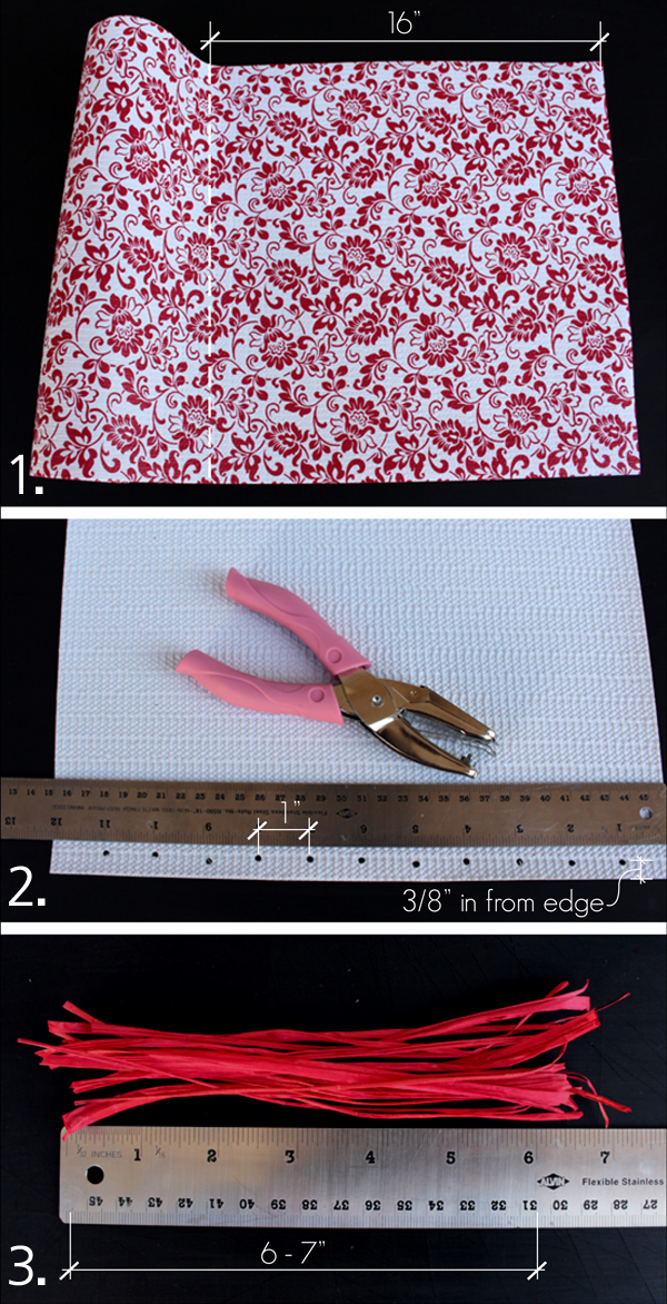 Artzy Creations No Sew Placemats_Steps