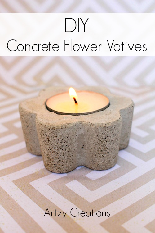 Artzy Creations_DIY Flower Votive Candles_Main1