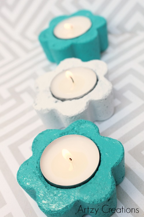 Artzy Creations_DIY Flower Votive Candles_Main4