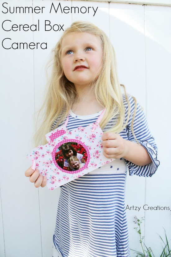 Artzy Creations Summer Memeory Cereal Box Camera_Final Image2a