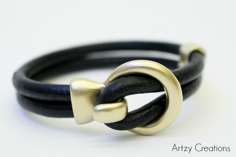 Artzy Creations_5 min Leather Bracelet 1