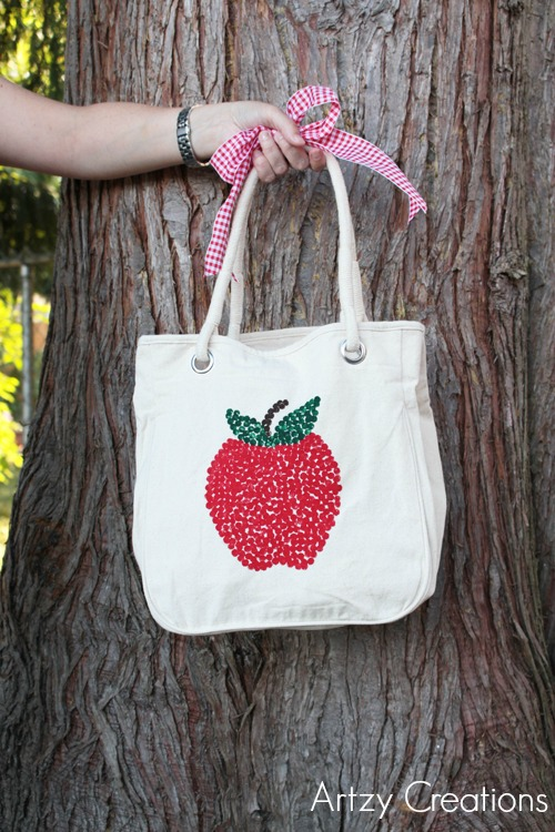 Artzy Creations_Back To School Tote 3b