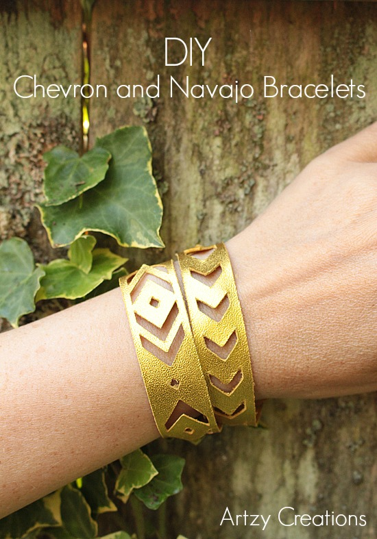 Artzy Creations_Chevron and Navajo Bracelet Main 2