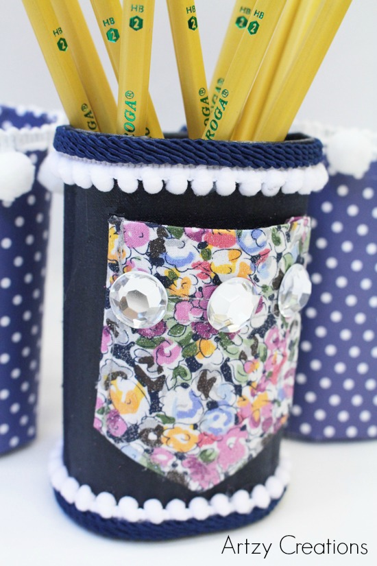 Artzy Creations_DIY Pencil Holder For Lockers 4a