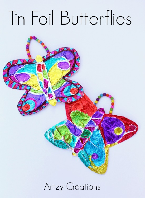 Artzy Creations_Tin Foil Butterflies Final 1a