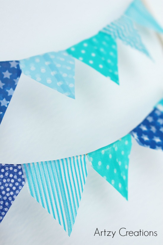 Artzy Creations_DIY Bunting Flag Main 3a
