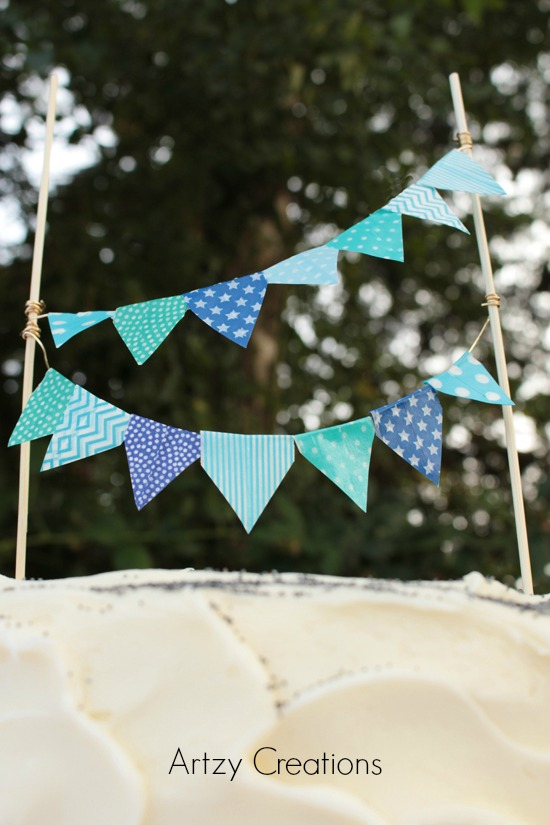 Artzy Creations_DIY Bunting Flag Main 5a