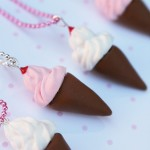 Ice Cream Cone Necklaces
