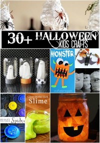 30 + Halloween Kids Crafts