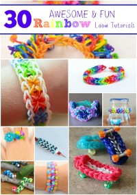 30 Awesome-and-Fun-Rainbow Loom-Tutorials_Artzy Creations