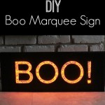 Boo Marquis Sign