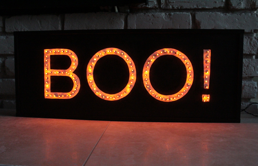 Artzy Creations-Boo-Marquee-Sign Main