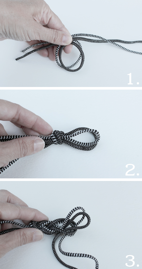 Artzy Creations_Bungee Cord Bracelet_Steps 1