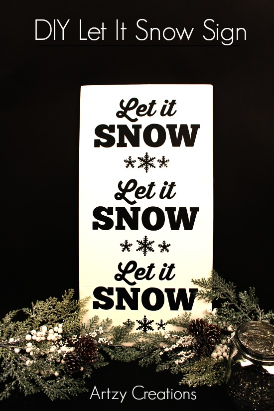 DIY-Let It Snow-Sign-1a