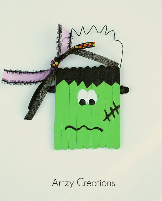 Easy Frankenstein Craft 4a